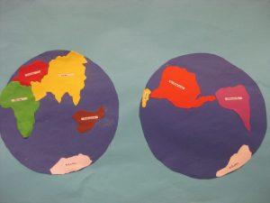 Kontinent Puzzle